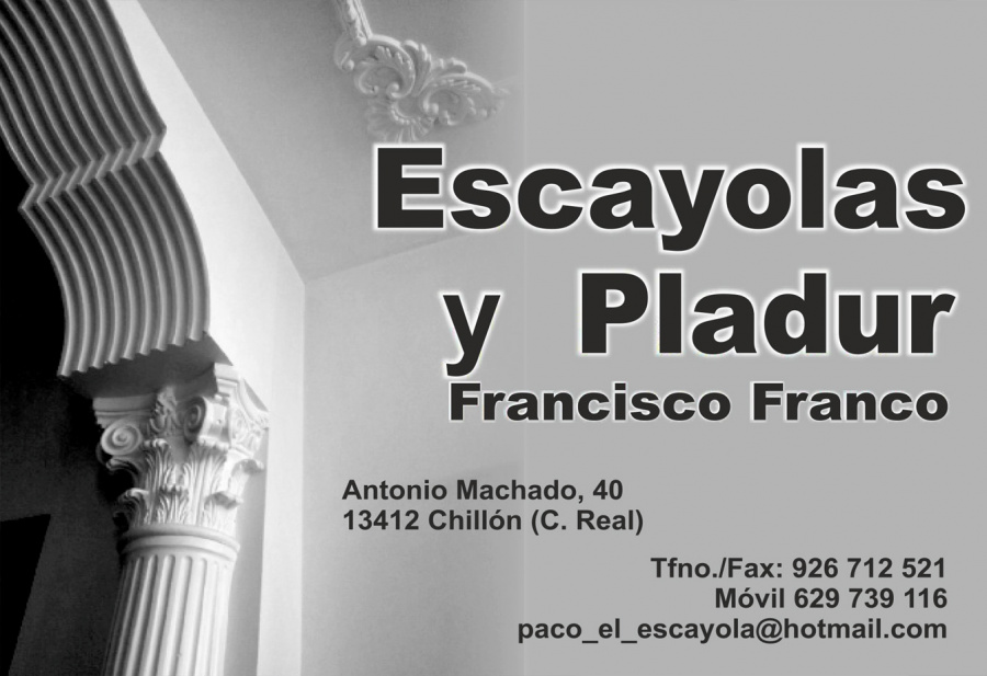 Escayolas y Pladur Francisco Franco